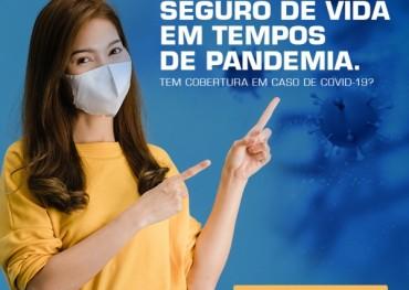 Seguro de vida em tempos de pandemia.